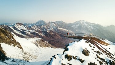 "Glacier de Stubai - plateforme ""Top of Tyrol"", © Stubaier Gletscher/Andre Schönherr"