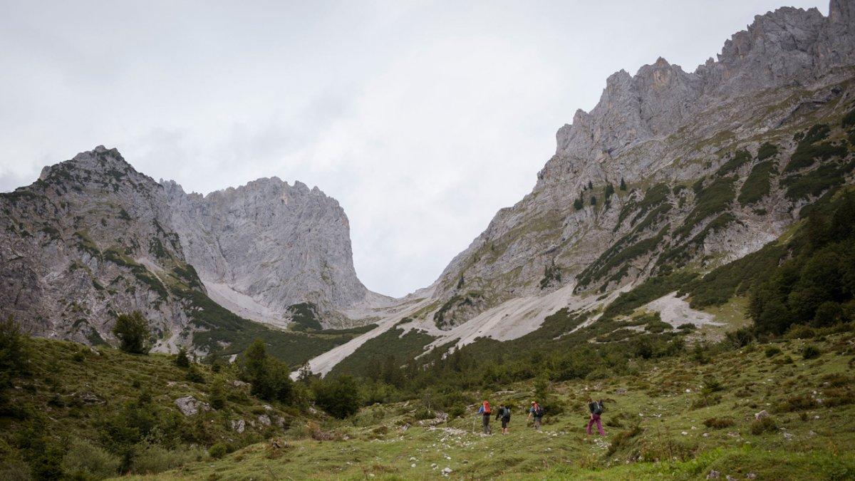 Voie de l'Aigle : départ depuis la Wilder Kaiser, © Tirol Werbung