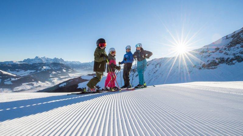 Domaine skiable de  St. Johann in Tirol / Oberndorf / Eichenhof, © St. Johanner Bergbahnen