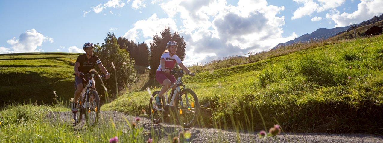 Vélo électrique à Serfaus-Fiss-Ladis, © Andreas Kirschner