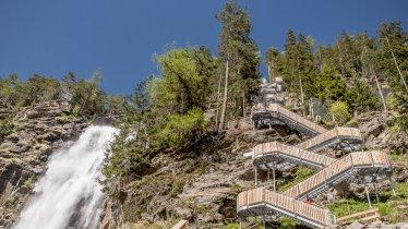 La cascade Stuibenfall, © Ötztal Tourismus