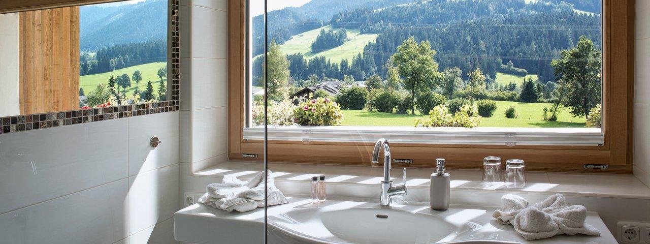 Le gîte Lindenhof à Scheffau, Wilder Kaiser, © Tirol Werbung/Lisa Hörterer