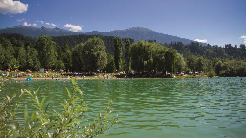 Le lac de Baggersee, © Innsbruck Tourismus / Tommy Bause