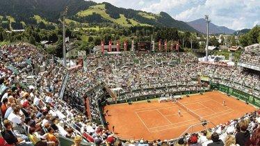Le tournoi de Kitzbühel réunit chaque année des dizaines de milliers de fans de tennis, © Kitzbühel Tourismus