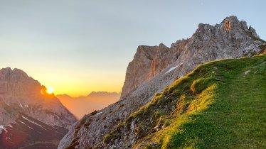 Admirer le soleil qui se lève depuis la Serles, © Emanuel Kaser