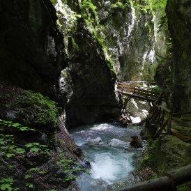 Les gorges de Wolfsklamm de Stans dans le Karwendel, © Tirol Werbung/Bernhard Aichner