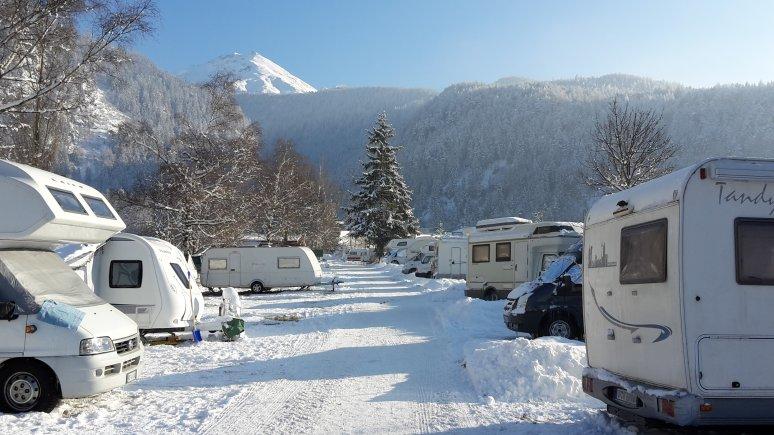 Chemins déneigés, © Ötztal Arena Camping