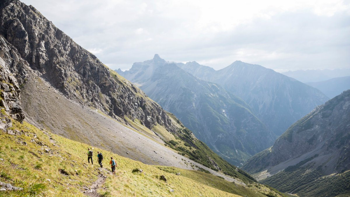 Chemin de grande randonnée le plus renommé du Tyrol, © Tirol Werbung/Dominik Gigler
