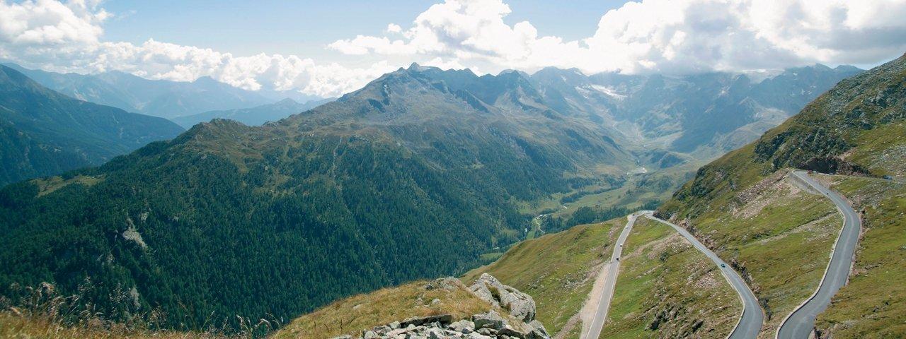 La route du col Timmelsjoch dans l'Ötztal, © Timmelsjoch-Hochalpenstraßen AG