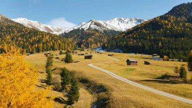 La haute vallée Pfundser Tschey en automne, © Tirol Werbung/Webhofer Mario