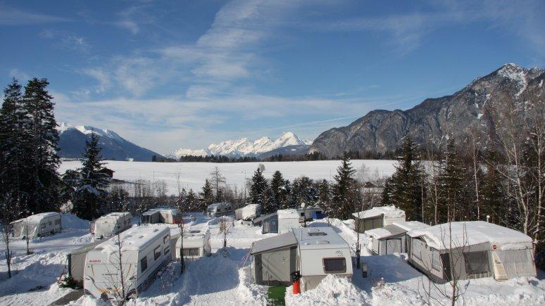 Camping avec vue, © Ferienparadies Natterer See