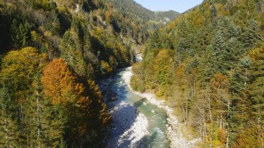 Les gorges Tiefenbachklamm entre Kramsach et Brandenberg, © Tirol Werbung