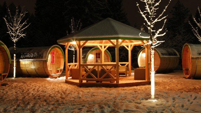 Romantisme hivernal, © Ferienparadies Natterer See