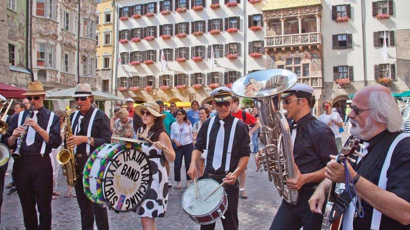 New Orleans Festival - Grand festival de jazz dans toute la ville d'Innsbruck, © Innsbruck Tourismus / Christof Lackner