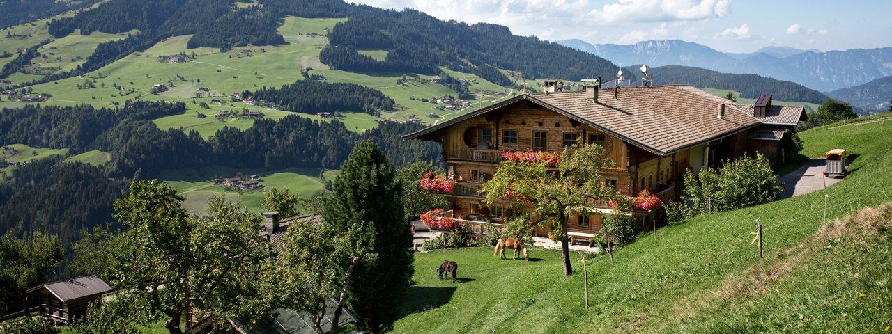 Le gîte Siedlerhof in Hopfgarten, © Tirol Werbung/Lisa Hörterer