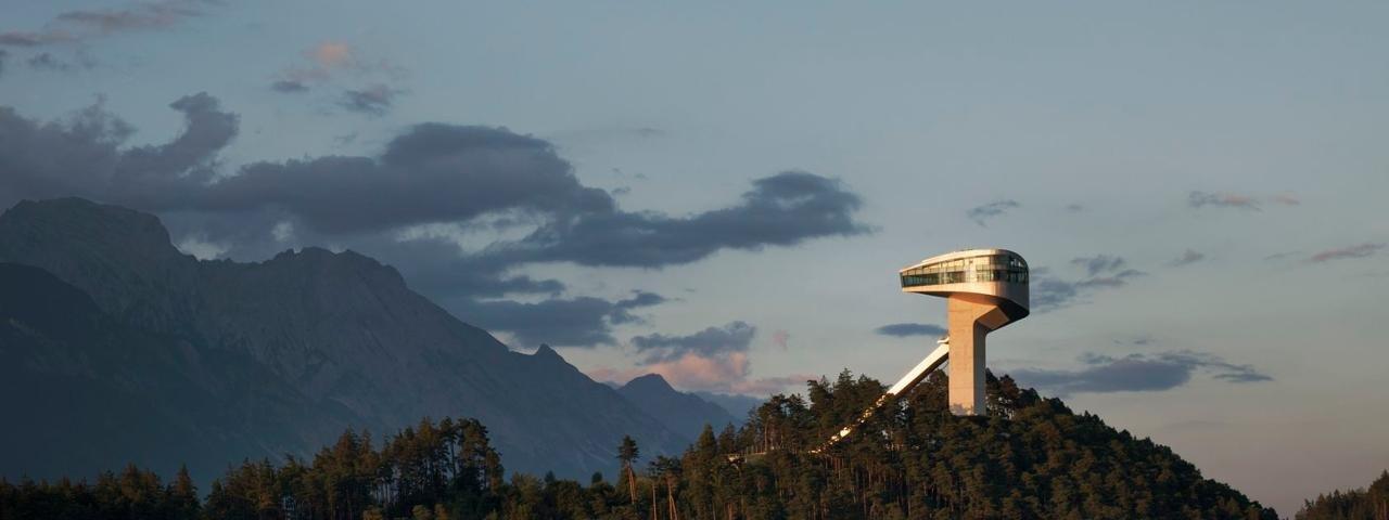 Tremplin du Bergisel à Innsbruck, © Tirol Werbung/Verena Kathrein
