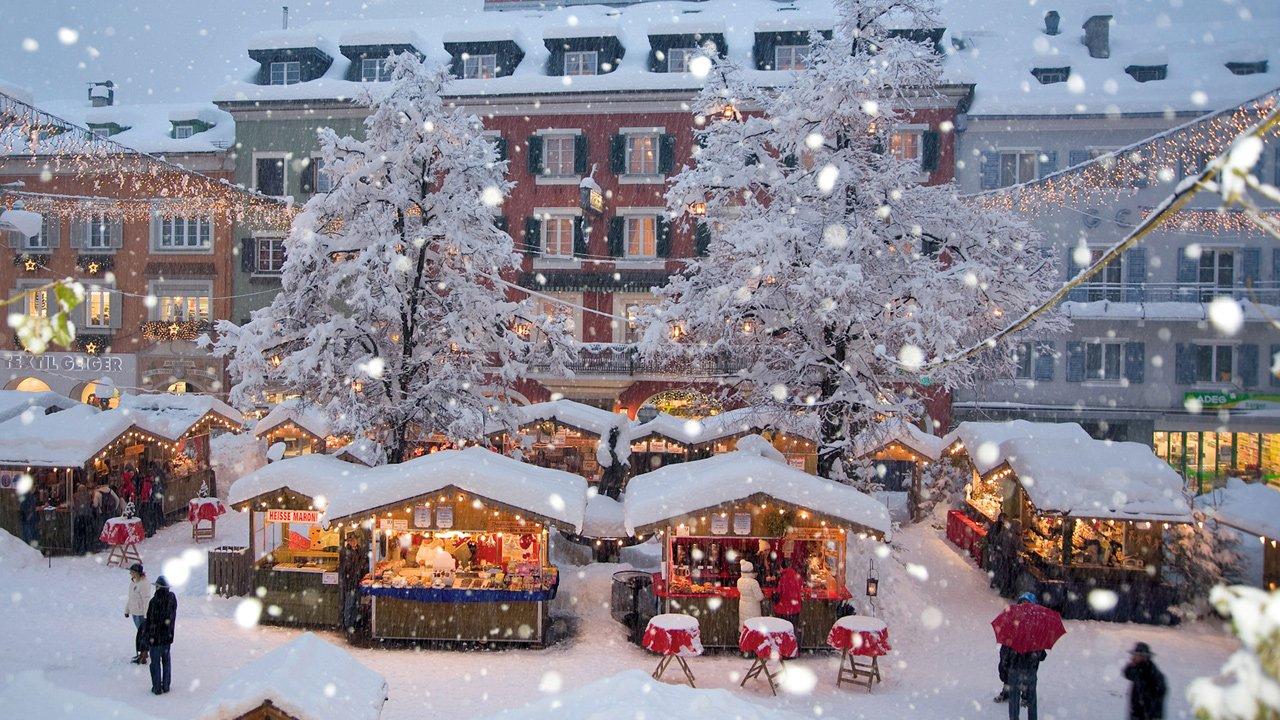 La belle ville de Lienz sous la neige, © Advent in Tirol
