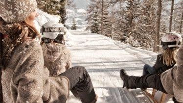 Piste de luge Brettlalm, © TVB Tiroler Zugspitzarena/U. Wiesmeier