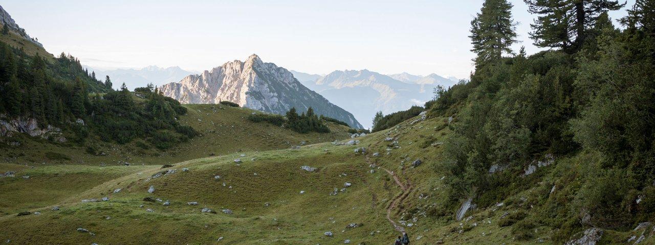 Voie de l'aigle étape 06 : Brandenberger Alpen, © Tirol Werbung/Jens Schwarz