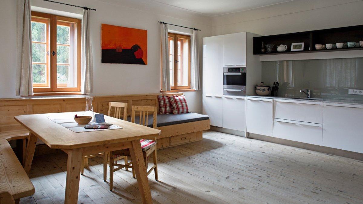 L'appartement de 250 m2 peut accueillir jusqu'à 10 personnes, © Tirol Werbung/Lisa Hörterer