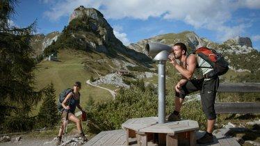 Vue depuis le Massif de Rofan, © Tirol Werbung/Jens Schwarz