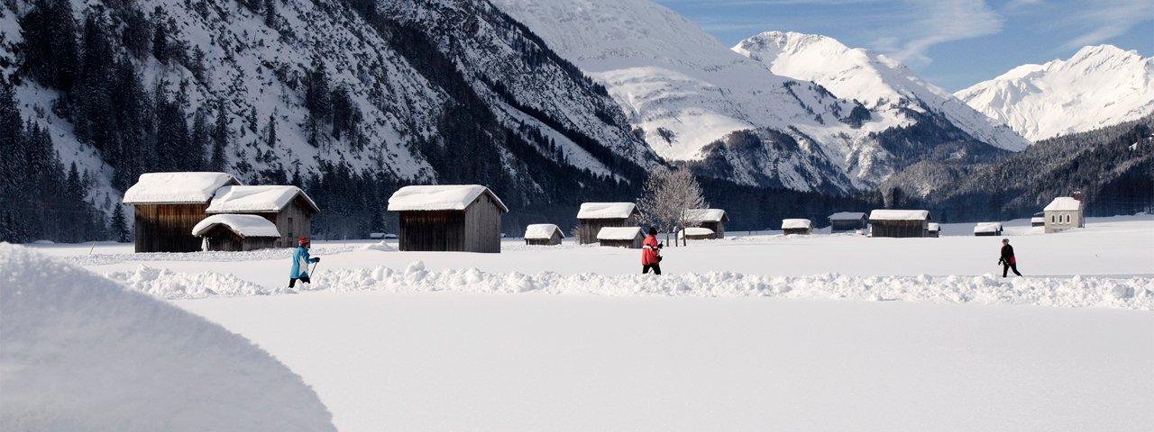 Ski de fond dans la région du parc naturel Lechtal-Reutte, © Irene Ascher