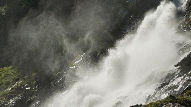 Les chutes d'eau Grawa dans la vallée de Stubaital, © Tirol Werbung/Frank Bauer