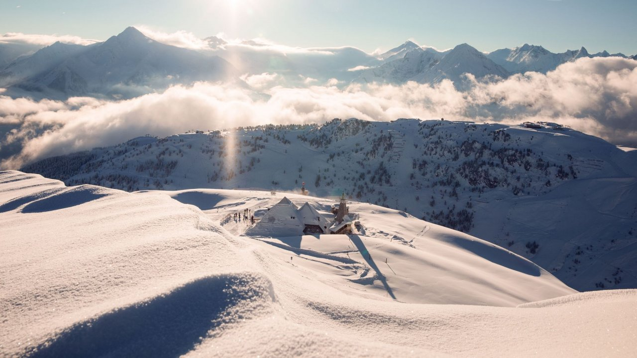 Refuge Schneekarhütte au domaine de Mayrhofen, © Schneekarhütte