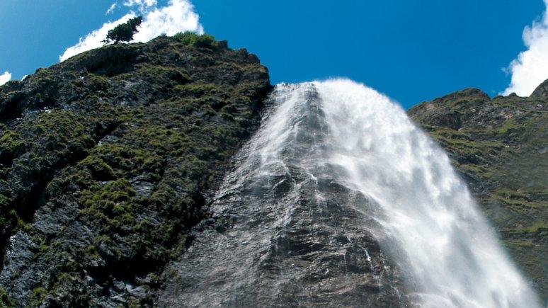 La chute d'eau Hintertux, © TVB Tux-Finkenberg