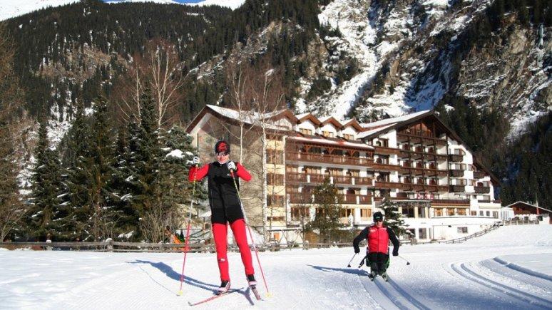 Piste de ski de fond d'entraînement Weisseespitz : idéal pour ensuite passer à la luge nordique, © Tiroler Oberland