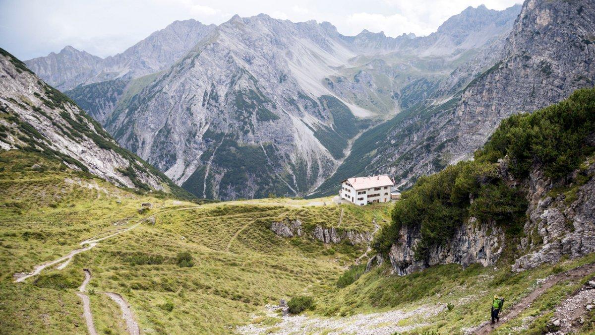 La Voie de l'Aigle : dans les Alpes de Lechtal, © Tirol Werbung