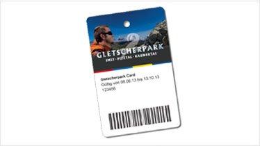 Gletscherpark Card