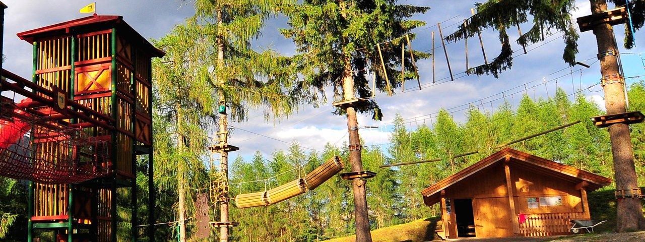 Parc d'aventure, parc de lutins et Drauradweg, © Osttirol Werbung