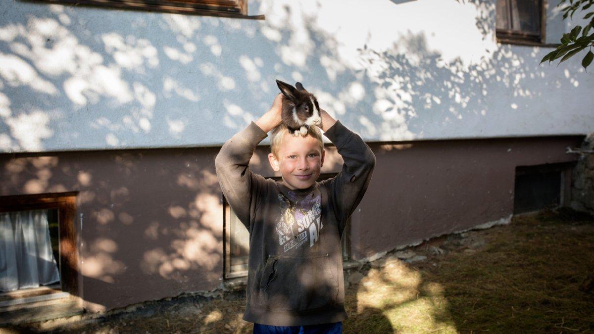 Lapins de la ferme Flecklhof, © Tirol Werbung/Lisa Hörterer