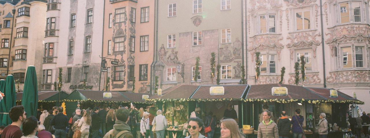 Le marché de Pâques d'Innsbruck, © un attimo Photographie