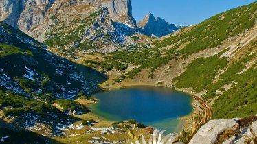Lac Zireiner See dans le massif de Rofan, © Alpbachtal Seenland Tourismus/Gerhard Berger