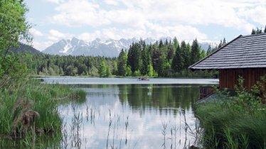 Le lac Wildsee - circuit de randonnée Seefelder Kreuzweg - Wildsee, © Olympiaregion Seefeld