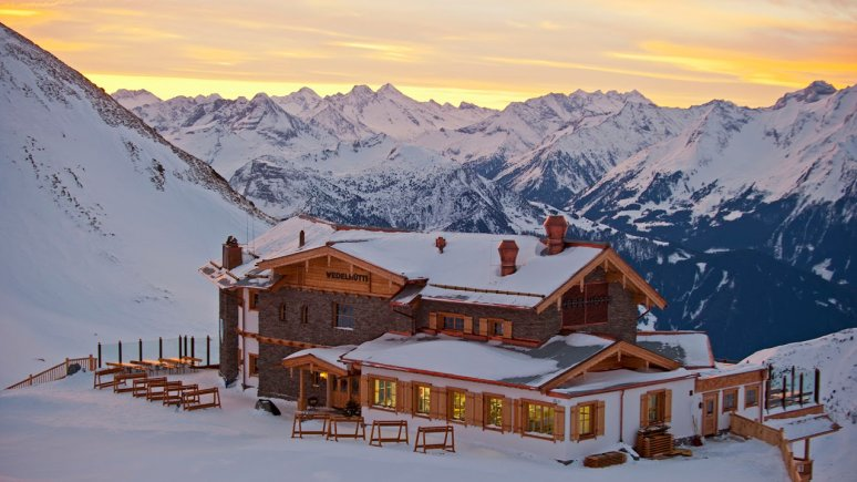 Chalet de montagne Wedelhütte dans la Hochzillertal, © Gruppe Schultz/Michael Neumann