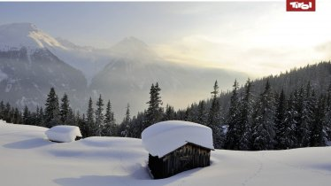 Le Tyrol sous la neige