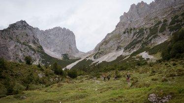 Voie de l'aigle étape 2 : Refuge de Gaudeamushütte – Lac de Hintersteiner See, © Tirol Werbung/Jens Schwarz