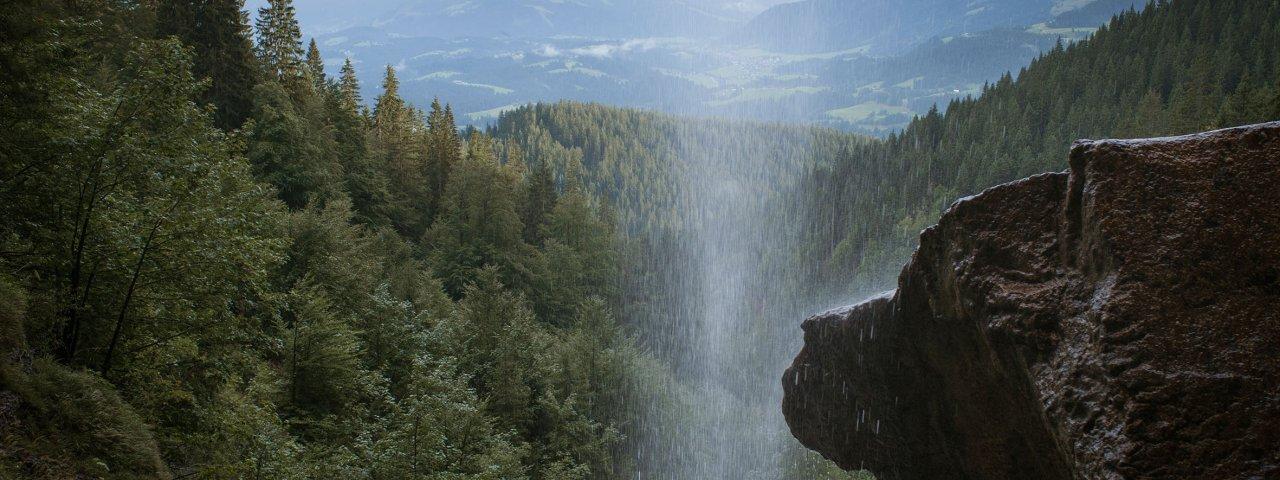 Voie de l'aigle étape 1 : Chute d'eau de Schleierwasserfall, © Tirol Werbung/Jens Schwarz