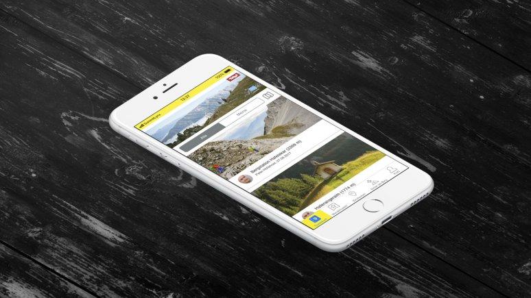 L'application SummitLynxApp pour apposer des tampons numériques et gagner les insignes, © SummitLynxApp