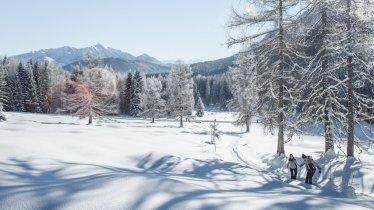 Randonnée hivernale dans la vallée de Gaistal, © Olympiaregion Seefeld