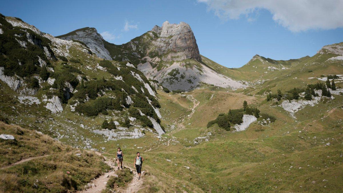 Randonnée sur le massif de Rofan, © Tirol Werbung/Jens Schwarz