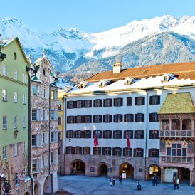 Le Petit Toit d'or dans la vieille ville d'Innsbruck, © Innsbruck Tourismus/Christoph Lackner