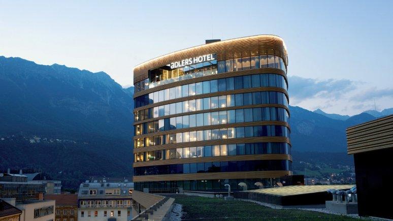 La tour PEMA de l'hôtel aDLERS, © das aDLERS