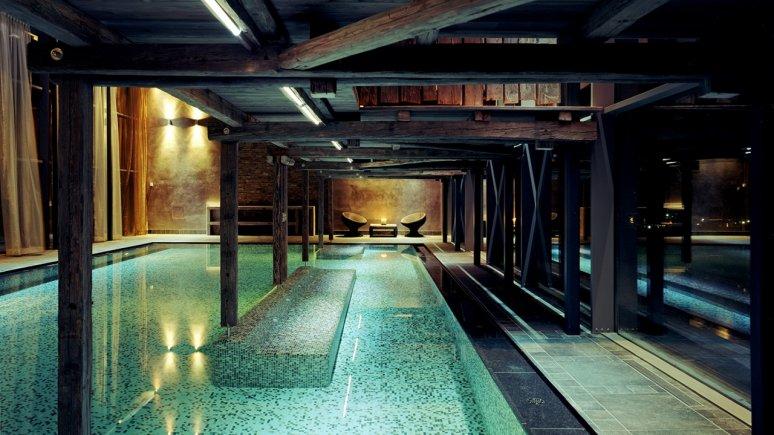 Piscine de l'hôtel Mohr Life Resort, © MOHR life resort