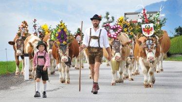 La fête de la transhumance de Reith im Alpbachtal, © Gabriele Grießenböck