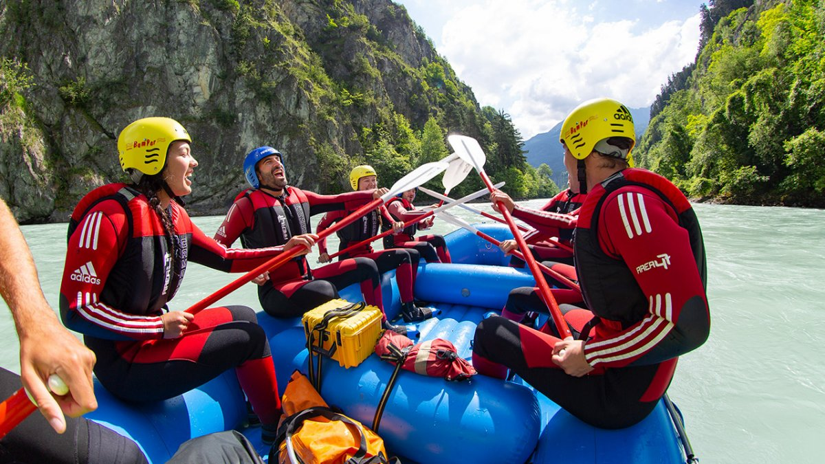 Rafting dans les gorges d'Imst (Imster Schlucht), © Tirol Werbung/Neusser Peter