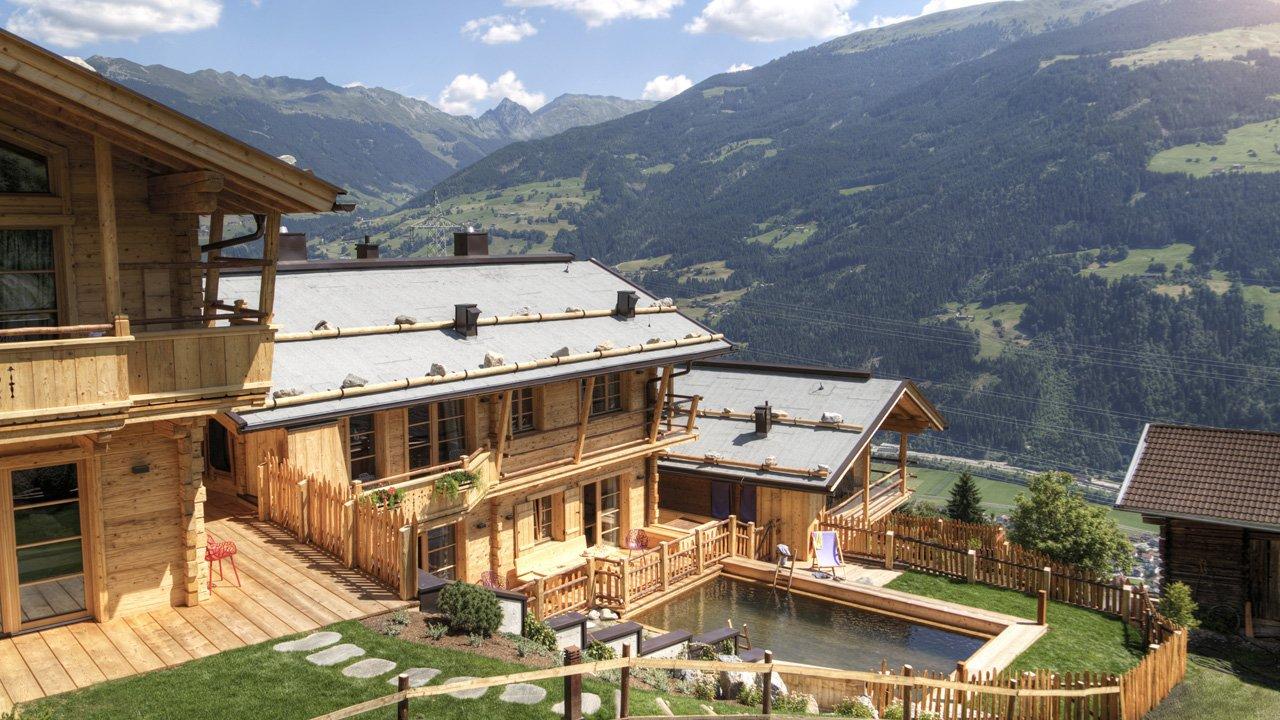 Chalets de luxe du Hochleger à Zell am Ziller, © Das Posthotel GmbH